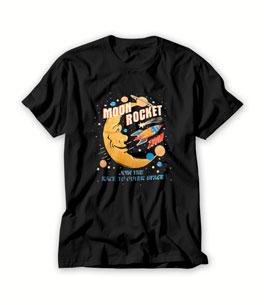 Moon Rocket T Shirt