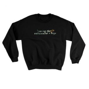 Saving the environment boys Sweatshirt