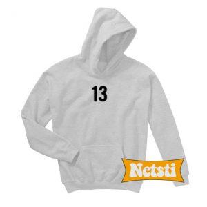 13 Font Chic Fashion Hoodie