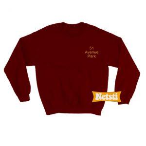 51 avenue park Chic Fashion Sweatshirt