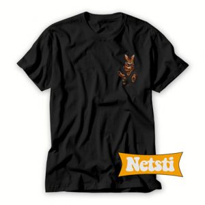 Bengal Cat Pocket T Shirt