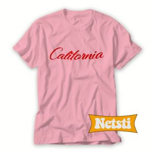 California Text Chic Fashion T Shirt