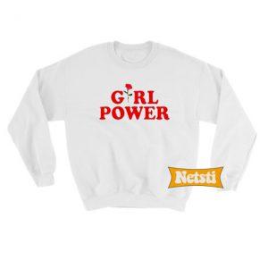 Girl Power Chic Fashion Sweatshirt