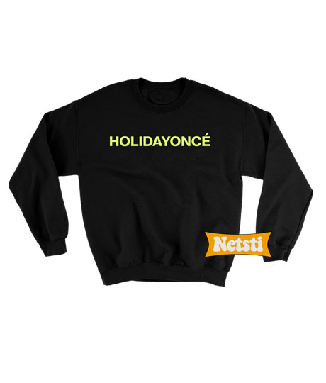 Holiday Chic Fashion Sweatshirt