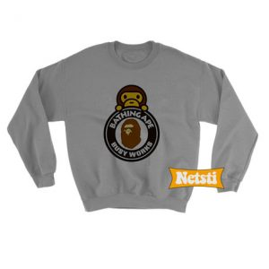 A Bathing Ape Milo On Busy Works Chic Fashion Sweatshirt