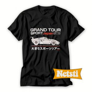 Grand Tour Sport Japan GTS Chic Fashion T Shirt