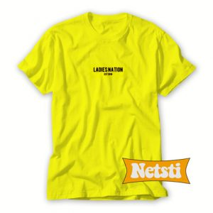 Ladies Nation Chic Fashion T Shirt
