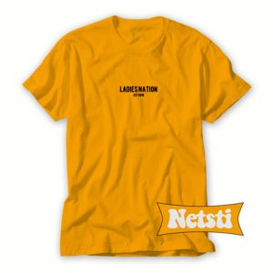 Ladies Nation Chic Fashion T Shirt