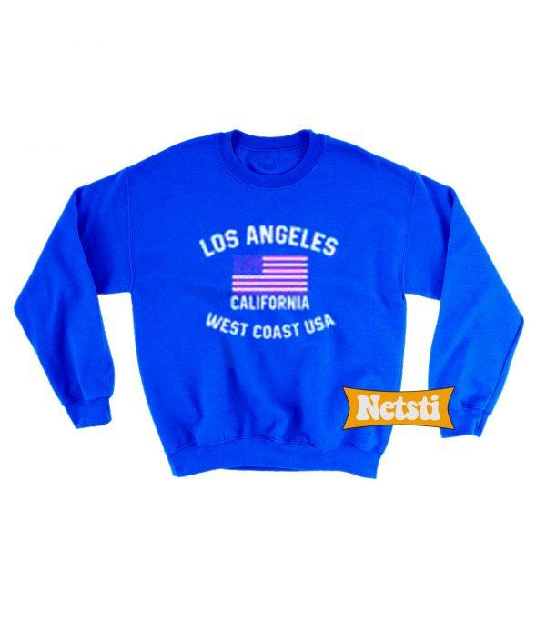 Los Angeles California West Coast USA Chic Fashion Sweatshirt