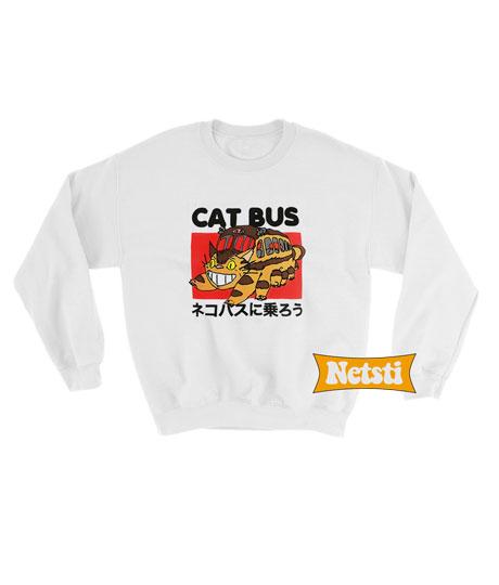 Totoro Neighbor Cat Bus Chic Fashion Sweatshirt