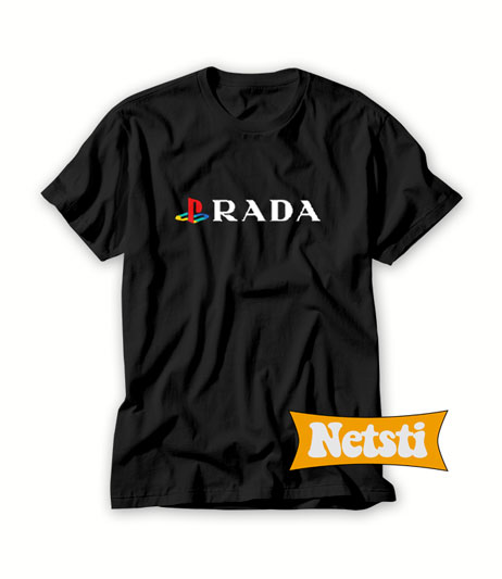 Playstation Prada Chic Fashion T Shirt