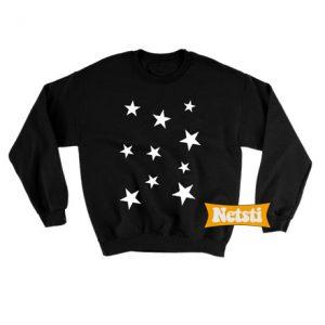 Stars Logo Chic Fashion Sweatshirt