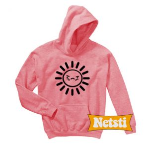 Sun Bright Faces Chic Fashion Hoodie