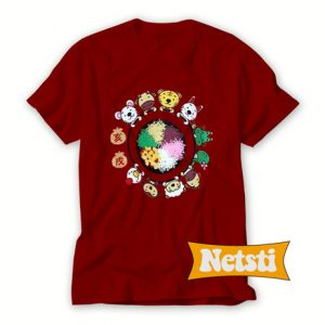 12 Chinese zodiac animals Chic Fashion T Shirt