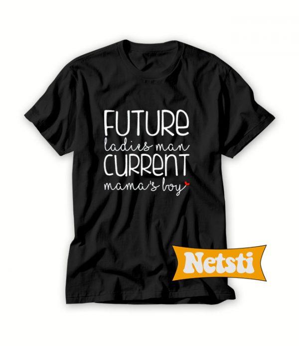 Future Ladies Man Chic Fashion T Shirt