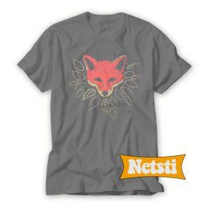 Mr Fox Orange Chic Fashion T Shirt
