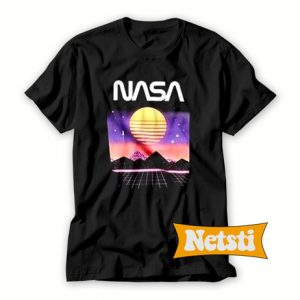 Nasa space sunset Chic Fashion T Shirt
