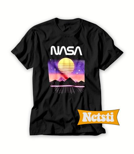 Nasa space sunset Chic Fashion T Shirt