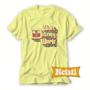 Walt Disney World Rainbow Chic Fashion T Shirt