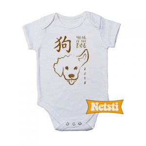 Year Of The Dog Baby Onesie