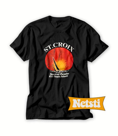 St Croix American Paradise Chic Fashion T Shirt