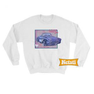 1960 corvette convertible Chic Fashion Sweatshirt