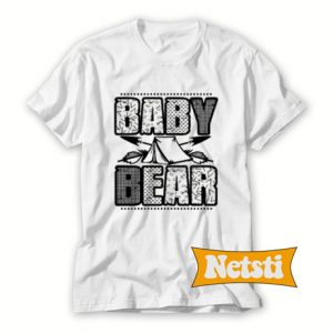 Baby Bear Chic Fashion T Shirt