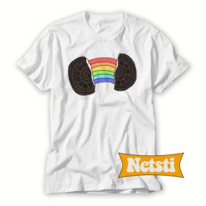 Rainbow Oreo Chic Fashion T Shirt