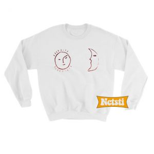 Sun and Moon Chic Fashion Sweatshirt