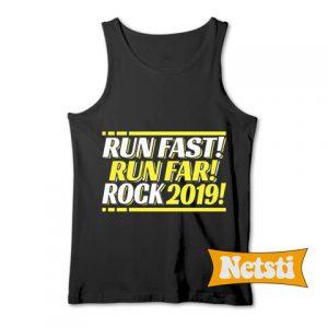 2019 Runner Running Quote Chic Fashion Tank Top