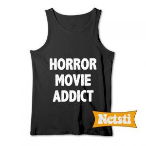 Horror Movie Addict Chic Fashion Tank Top