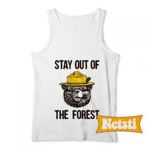 Stay Out of the Forest Chic Fashion Tank Top