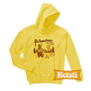 Yellowstone National Park Chic Fashion Hoodie