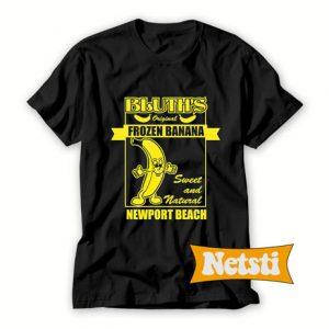 Bluth'S Original Frozen Banana Chic Fashion T Shirt