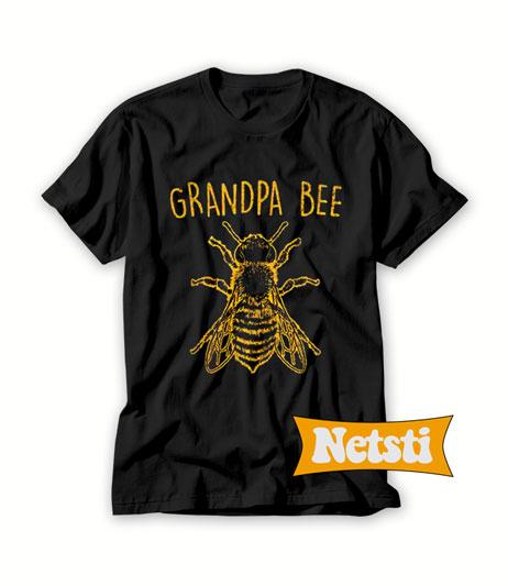 Grandpa Bee Chic Fashion T Shirt