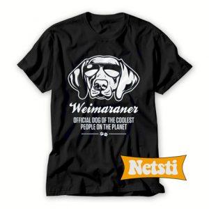 Weimaraner Dog Chic Fashion T Shirt