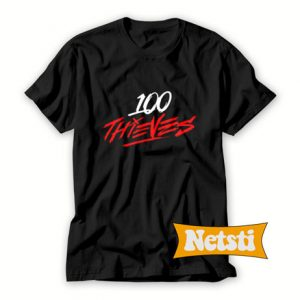 100 Thieves Chic Fashion T Shirt