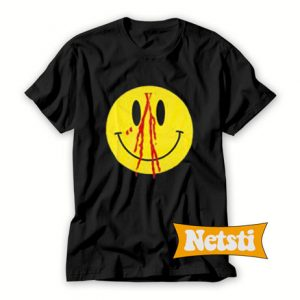 Vlone Smiley Face Chic Fashion T Shirt