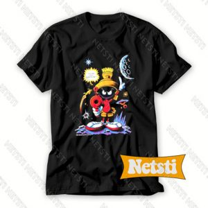 1992 Marvin The Martian Looney Tunes Chic Fashion T Shirt