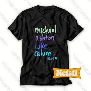 5 sos player name Chic Fashion T Shirt