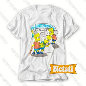 90s Bart Simpson Chic Fashion T Shirt