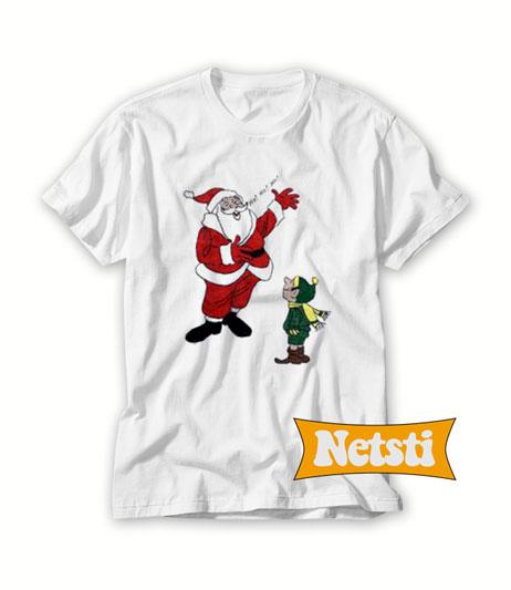 Santa Claus Elf Christmas Chic Fashion T Shirt