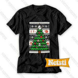 Star Wars Christmas Tree Chic Fashion T Shirt