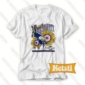 Warner Bros Sunflowers Chic Fashion T Shirt