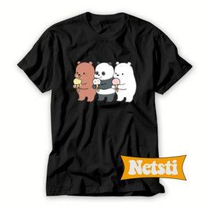 We Bare Bears Chibi Chic Fashion T Shirt