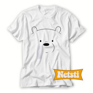 We Bare Bears Ice Bear Chic Fashion T Shirt