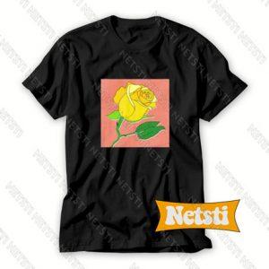 Yellow Rose Chic Fashion T Shirt