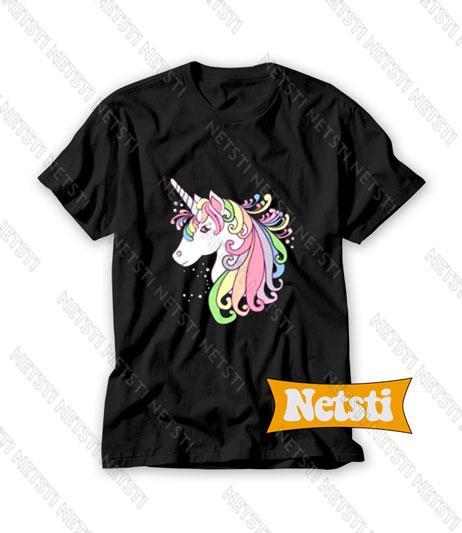 Cute Unicorn Chic Fashion T Shirt