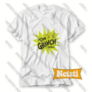 The Grinch Green Starburst Chic Fashion T Shirt