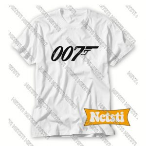 007 James Bond Chic Fashion T Shirt